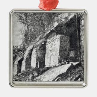 Temple of Inscriptions, Palenque Metal Ornament