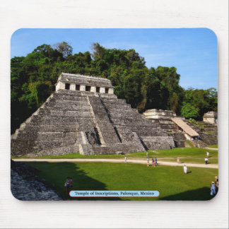 Temple of Inscriptions, Palenque, Mexico Mouse Pad