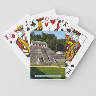 Temple of Inscriptions, Palenque, Mexico Playing Cards