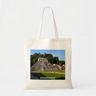 Temple of Inscriptions, Palenque, Mexico Tote Bag