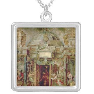 Temple of Janus, 1630s Pendant