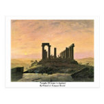 Temple Of Juno In Agrient Post Card