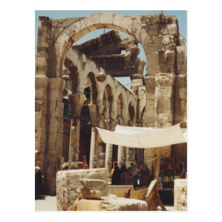 Temple of Jupiter Postcard