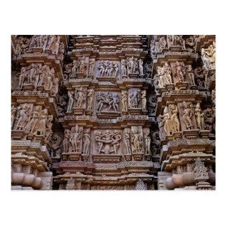 Temple of Khajuraho, India Post Cards