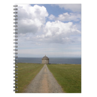 Temple of Learning Spiral Note Book