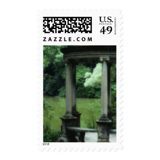 Temple of Love at the Old Westbury Gardens Postage Stamp