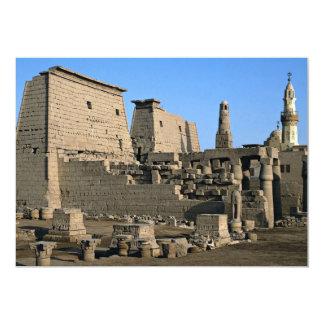 """Temple of Luxor, Luxor, Egypt Desert 5"""" X 7"""" Invitation Card"""