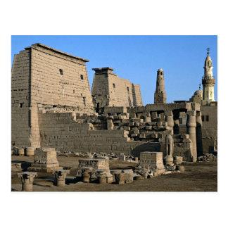 Temple of Luxor, Luxor, Egypt Desert Postcard