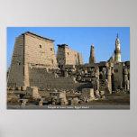 Temple of Luxor, Luxor, Egypt Desert Poster