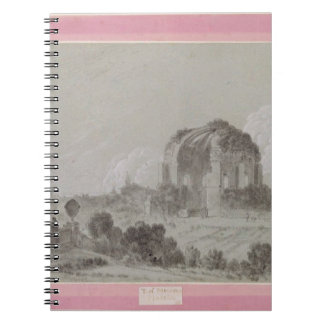 Temple of Minerva Medici, Rome, 1754 (drawing and Notebook