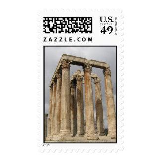 Temple of Olympian Zeus (Athens)_01 Stamp