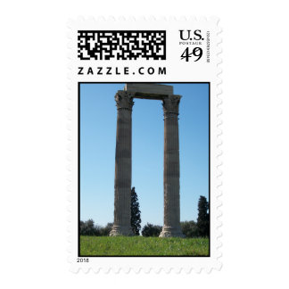 Temple of Olympian Zeus (Athens)-Gate Postage