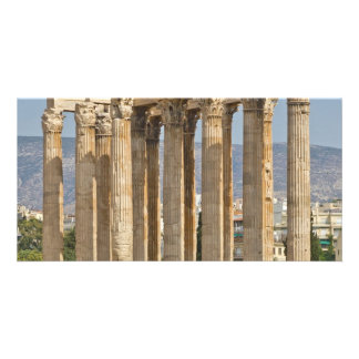 Temple of Olympian Zeus, Athens, Greece Picture Card