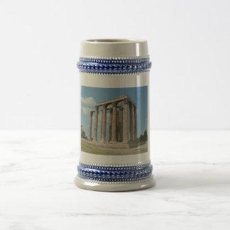 Temple of Olympian Zeus (Athens) 18 Oz Beer Stein