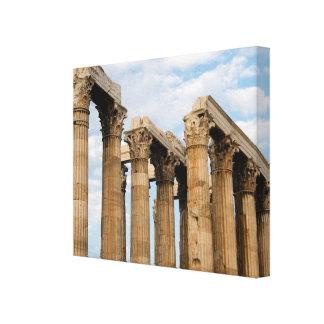 Temple of Olympian Zeus Greece Canvas