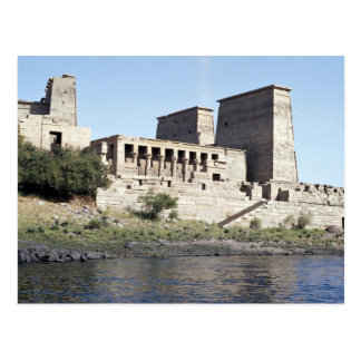 Temple of Philae Aswan, upper Egypt Desert Postcard