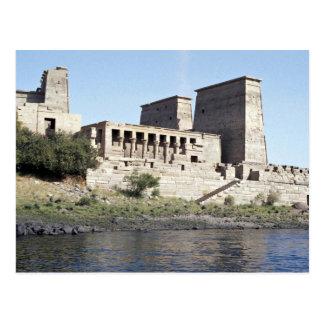 Temple of Philae Aswan, upper Egypt Desert Postcard