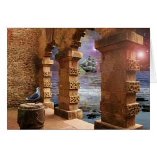 Temple of Poseidon Greeting Cards