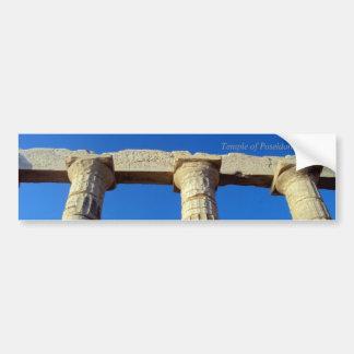 Temple of Poseidon - Sounio Bumper Stickers