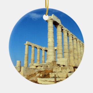 Temple of Poseidon - Sounio Ceramic Ornament