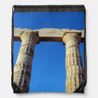 Temple of Poseidon - Sounio Drawstring Backpack
