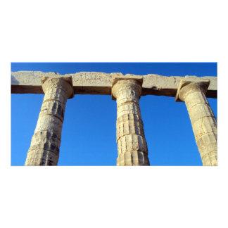 Temple of Poseidon - Sounio Photo Greeting Card