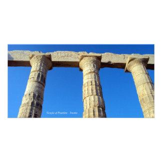 Temple of Poseidon - Sounio Photo Card