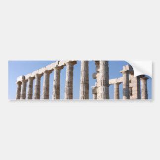 Temple of Poseidon, Sounion, Greece Bumper Sticker