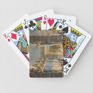 Temple of Ramesses II (1279-13 BC) Abu Simbel, Egy Bicycle Playing Cards