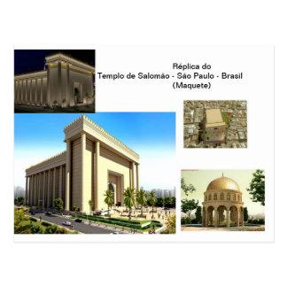 Temple of Salomão - SP Postcard