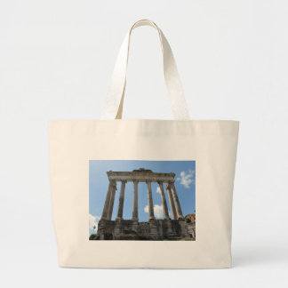Temple of Saturn - early 4th century BC Canvas Bags