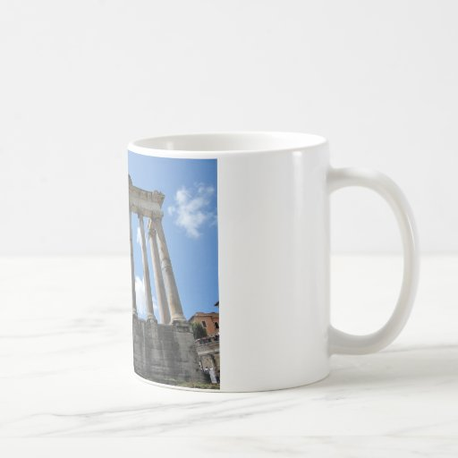 Temple of Saturn - early 4th century BC Coffee Mug