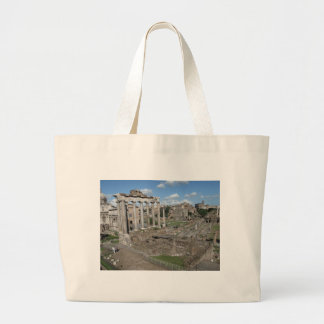 Temple of Saturn, Forum Romanum Canvas Bag