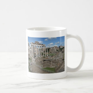 Temple of Saturn, Forum Romanum Coffee Mug