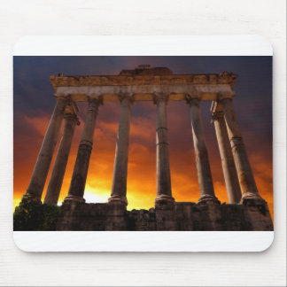 Temple of Saturn Mouse Pad
