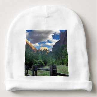 Temple of Sinawava Zion National Park Utah Baby Beanie