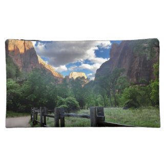Temple of Sinawava Zion National Park Utah Cosmetic Bag