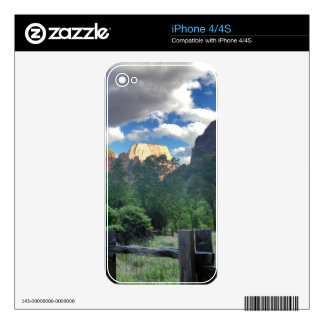 Temple of Sinawava Zion National Park Utah Decals For The iPhone 4S