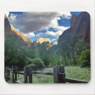 Temple of Sinawava Zion National Park Utah Mouse Pad