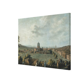 Temple of Solomon plate 63 from Views in the Ott Gallery Wrap Canvas