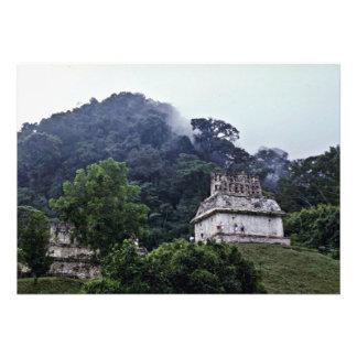 Temple Of Sun, 692 AD, Palenque Custom Invitation