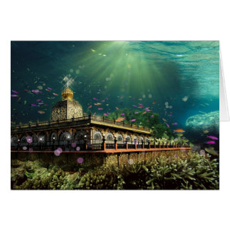 Temple Of The Coral Reef - Card, Greeting Note Card