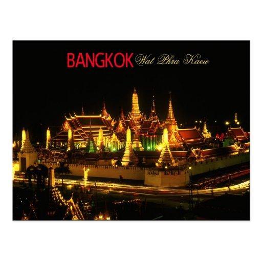 Temple of the Emerald Buddha, Bangkok Post Card