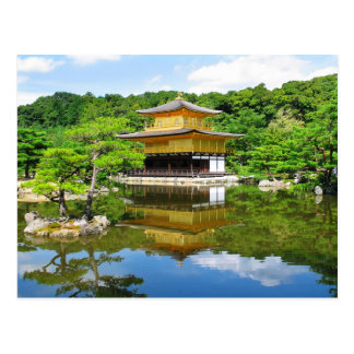 Temple of the Golden Pavilion, Kyoto, Japan Post Card