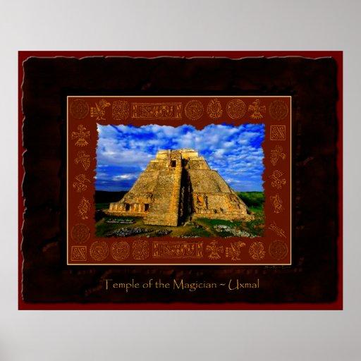 """Temple of the Magician"" Fine Art Print"