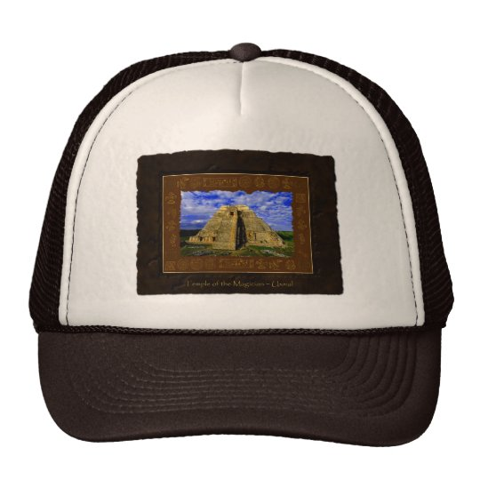 """""""Temple of the Magician"""" Gift item Trucker Hat"""