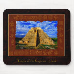 Temple of the Magician Mayan Gift item Mouse Mat