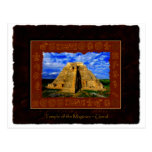 Temple of the Magician Mayan Gift item Post Cards