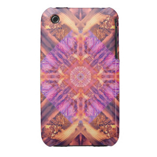 Temple of the Sky God Mandala iPhone 3 Case-Mate Case