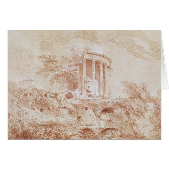 Temple of the Sybil at Tivoli Card